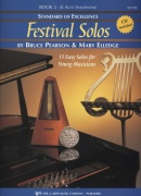 Standard of Excellence: Festival Solos 2 + CD / altový saxofon