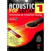 Acoustic Pop Guitar Band 1 + CD - Michael Langer