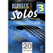 Acoustic Pop Guitar Solos 3 + CD - Noten & TAB - easy/medium