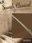 Sounds Classical - 17 Graded Solos + CD / příčná flétna + klavír