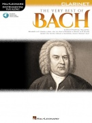 The Very Best of Bach: Instrumental Play-Along pro klarinet