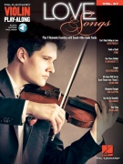 Love Songs: Violin Play-Along Volume 67