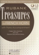 Rubank Treasures for French Horn + Audio Online / lesní roh + klavír (PDF)
