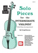Solo Pieces For The Intermediate Violinist (Book/Online Audio)