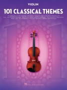 101 Classical Themes for Violin skladby pro housle