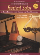 Standard of Excellence: Festival Solos 1 + CD / tenorový saxofon