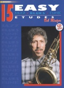 15 Easy Jazz Blues Funk Etudes + CD / altový saxofon ( Eb instruments )