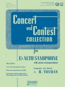CONCERT & CONTEST COLLECTIONS + Audio Online / altový saxofon + klavír (PDF)
