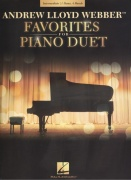 FAVORITES for PIANO DUET - Andrew Lloyd Webber / 1 klavír 4 ruce
