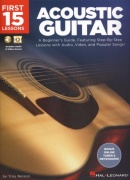 First 15 Lessons: Acoustic Guitar tabulatura