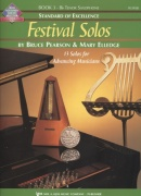 Standard of Excellence: Festival Solos 3 + Audio Online / tenorový saxofon