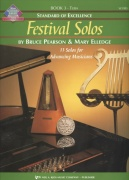 Standard of Excellence: Festival Solos 3 + Audio Online / tuba