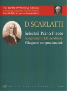 Scarlatti: Selected Piano Pieces / 10 skladeb pro klavír