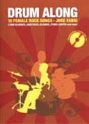 DRUM ALONG + CD / 10 female rock songs