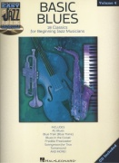 Easy Jazz Play Along 4 - BASIC BLUES (18 classics) + CD