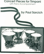 Concert Pieces for Timpani and Piano od Sarcich, Paul