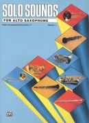 SOLO SOUNDS 1 for Alto Saxophone / altový saxofon - klavírní doprovod