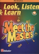 LOOK, LISTEN & LEARN - Meet the Masters + Audio Online / altový saxofon + klavír