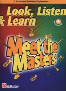 LOOK, LISTEN & LEARN - Meet the Masters + Audio Online / trombon (pozoun) + klavír