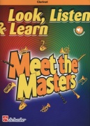 LOOK, LISTEN & LEARN - Meet the Masters + Audio Online / klarinet + klavír