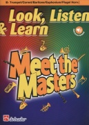 LOOK, LISTEN & LEARN - Meet the Masters + Audio Online / trumpeta (trubka) + klavír