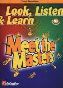 LOOK, LISTEN & LEARN - Meet the Masters + Audio Online / tenorový saxofon + klavír