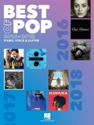 Best Of Pop 2016-2018 PVG - Piano, Vocal & Guitar