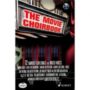 The movie choirbook SATB + CD - 12 famous film songs