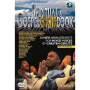 Gospel choir book SATB + CD od Gerlitz Carsten