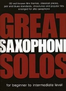 Great Alto Saxophone Solos