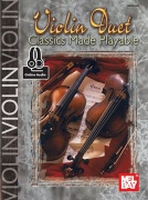 Mary Ann Harbar: Violin Duet Classics Made Playable (Book/Online Audio)