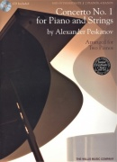 Concerto No. 1 for Piano and Strings (piano reduction) by Alexander Peskanov / 2 klavíry 4 ruce audio online