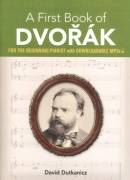 A First Book of DVOŘÁK + Audio Online / klavír