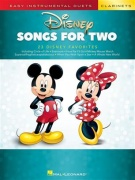 Easy Instrumental Duets: Disney Songs For Two Clarinets