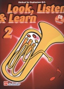 LOOK, LISTEN & LEARN 2 + CD / method for Euphonium B.C. (basový klíč)