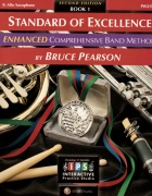 Standard Of Excellence: Enhanced Comprehensive Band Method Book 1 (E-Flat Alto Saxophone)