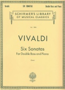 Vivaldi: Six Sonatas for Double Bass and Piano / kontrabas + klavír
