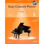 Easy Concert pieces 1 + CD pro klavír