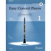 Easy Concert Pieces 1 + CD pro klarinet a klavír