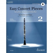 Easy Concert Pieces 2 + CD pro klarinet a klavír