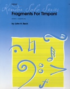 Beck, John: Fragments for Timpani