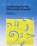 Houllif, Murray: Contest Solos for the intermediate Timpanist
