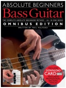 Absolute Beginners: Bass Guitar - Omnibus Edition (Book/Audio Download)
