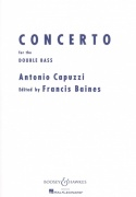 Capuzzi: Concerto for the Double Bass and Piano / kontrabas + klavír