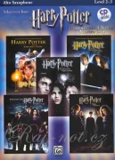 HARRY POTTER - selections from movies 1-5 + CD Alto Saxophone