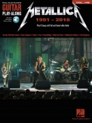 Metallica: 1991-2016 - Guitar Play-Along Volume 196