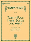 24 Italian Songs & Arias - Medium High Voice