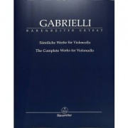 The Complete Works for Violoncello Gabrielli, Domenico
