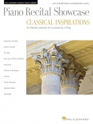 Piano Recital Showcase - Classical Inspirations - Hal Leonard Student Piano Library Late Elementary-Intermediate Le