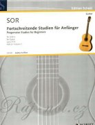 24 progressive Studies for Beginners op. 31 vol. 2 - Fernando Sor